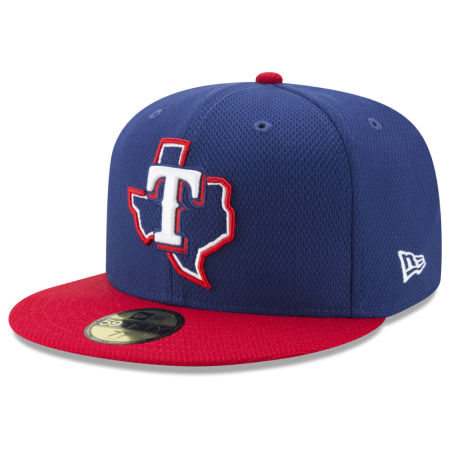 Texas Rangers New Era MLB Batting Practice Diamond Era 59FIFTY Cap