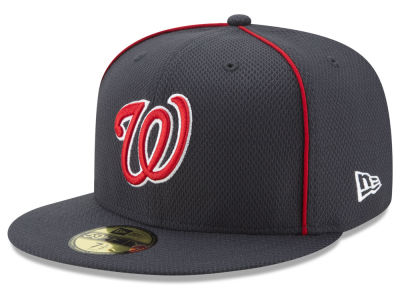Washington Nationals New Era MLB Batting Practice Diamond Era 59FIFTY Cap