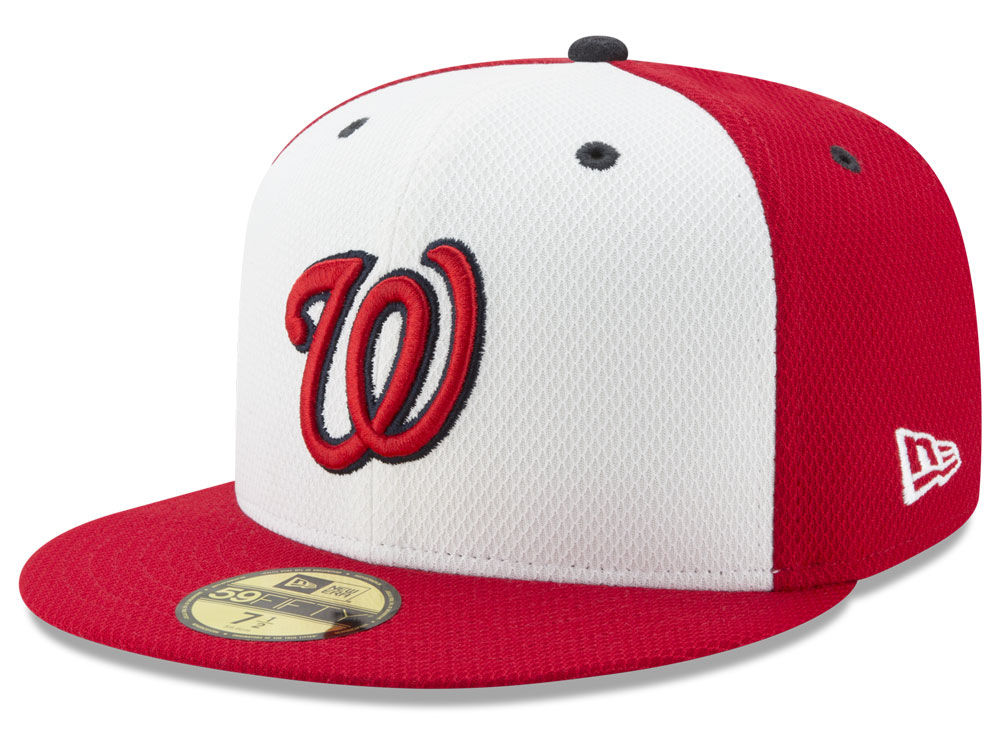 Washington Nationals New Era MLB Batting Practice Diamond Era 59FIFTY Cap  553e6f93aec1