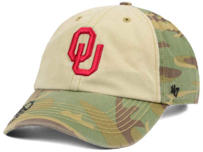 Oklahoma Sooners '47 NCAA Operation Hat Trick Gordie '47 CLEAN UP Cap