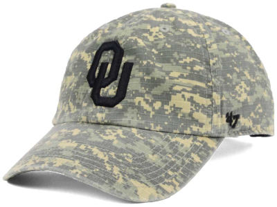 Oklahoma Sooners '47 NCAA Operation Hat Trick Nilan '47 CLEAN UP Cap