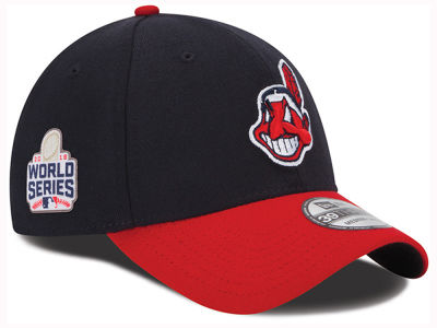 Cleveland Indians New Era MLB 2016 Team Classic World Series Patch 39THIRTY Cap