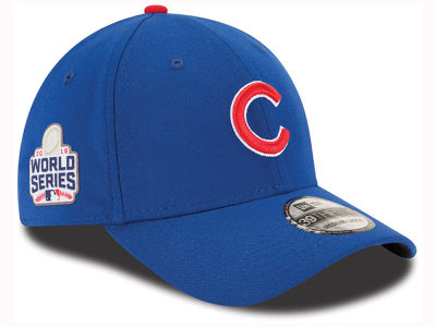 Chicago Cubs New Era MLB 2016 Team Classic World Series Patch 39THIRTY Cap