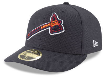 Atlanta Braves New Era MLB Batting Practice Diamond Era Low Profile 59FIFTY Cap