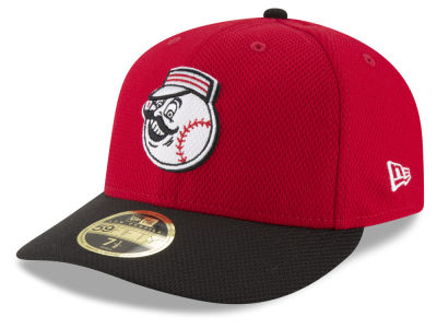 Cincinnati Reds New Era MLB Batting Practice Diamond Era Low Profile 59FIFTY Cap