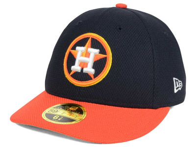 Houston Astros New Era MLB Batting Practice Diamond Era Low Profile 59FIFTY Cap