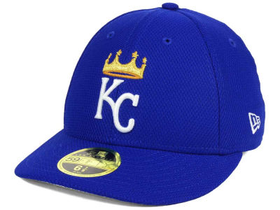Kansas City Royals New Era MLB Batting Practice Diamond Era Low Profile 59FIFTY Cap