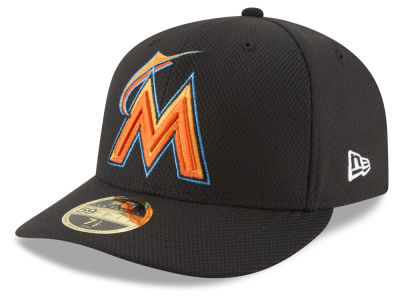 Miami Marlins New Era MLB Batting Practice Diamond Era Low Profile 59FIFTY Cap
