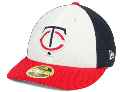 Minnesota Twins New Era MLB Batting Practice Diamond Era Low Profile 59FIFTY Cap