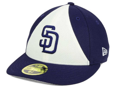 San Diego Padres New Era MLB Batting Practice Diamond Era Low Profile 59FIFTY Cap