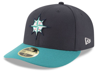 Seattle Mariners New Era MLB Batting Practice Diamond Era Low Profile 59FIFTY Cap