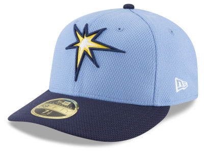 Tampa Bay Rays New Era MLB Batting Practice Diamond Era Low Profile 59FIFTY Cap