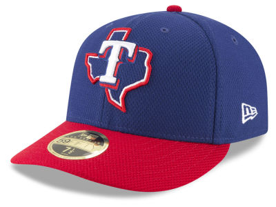 Texas Rangers New Era MLB Batting Practice Diamond Era Low Profile 59FIFTY Cap