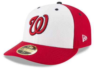 Washington Nationals New Era MLB Batting Practice Diamond Era Low Profile 59FIFTY Cap