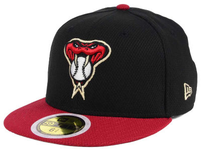 Arizona Diamondbacks New Era 2017 MLB Kids Batting Practice Diamond Era 59FIFTY Cap