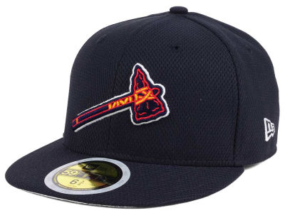 Atlanta Braves New Era 2017 MLB Kids Batting Practice Diamond Era 59FIFTY Cap