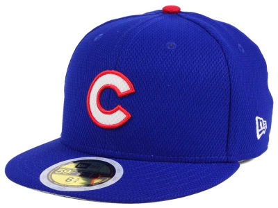 Chicago Cubs New Era 2017 MLB Kids Batting Practice Diamond Era 59FIFTY Cap