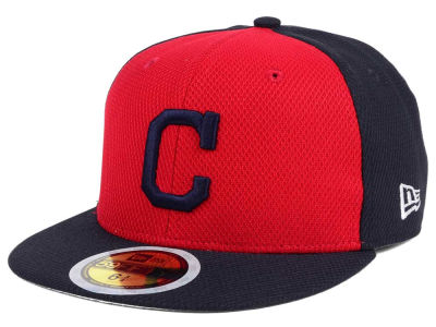 Cleveland Indians New Era 2017 MLB Kids Batting Practice Diamond Era 59FIFTY Cap