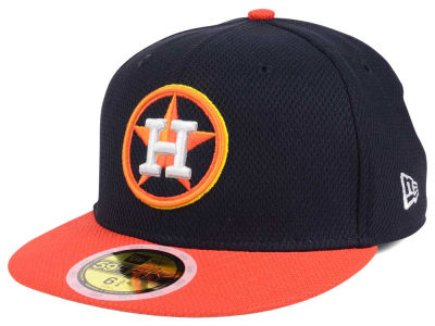 Houston Astros New Era 2017 MLB Kids Batting Practice Diamond Era 59FIFTY Cap