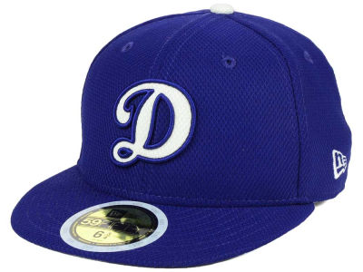 Los Angeles Dodgers New Era 2017 MLB Kids Batting Practice Diamond Era 59FIFTY Cap
