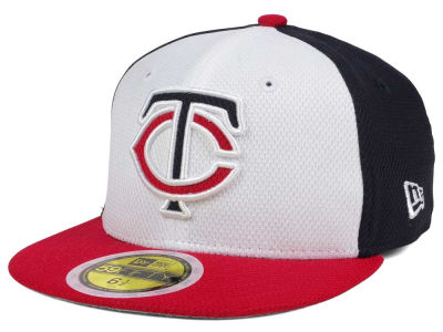 Minnesota Twins New Era 2017 MLB Kids Batting Practice Diamond Era 59FIFTY Cap