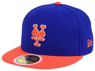 New York Mets New Era 2017 MLB Kids Batting Practice Diamond Era 59FIFTY Cap