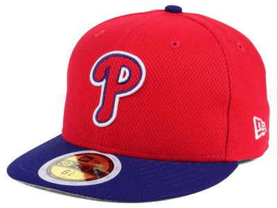 Philadelphia Phillies New Era 2017 MLB Kids Batting Practice Diamond Era 59FIFTY Cap
