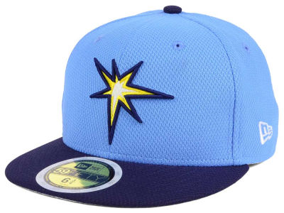 Tampa Bay Rays New Era 2017 MLB Kids Batting Practice Diamond Era 59FIFTY Cap