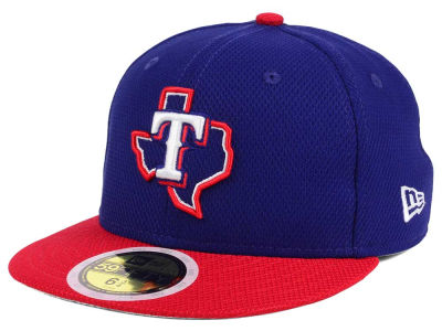 Texas Rangers New Era 2017 MLB Kids Batting Practice Diamond Era 59FIFTY Cap