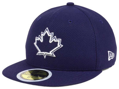Toronto Blue Jays New Era 2017 MLB Kids Batting Practice Diamond Era 59FIFTY Cap
