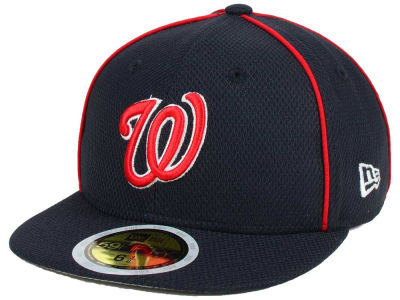 Washington Nationals New Era 2017 MLB Kids Batting Practice Diamond Era 59FIFTY Cap
