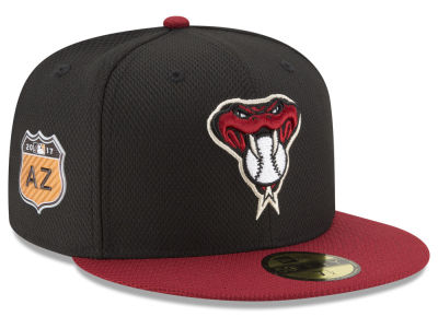 Arizona Diamondbacks New Era 2017 MLB Diamond Era Spring Training 59FIFTY Cap