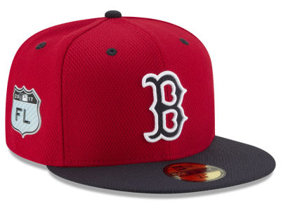 Boston Red Sox New Era 2017 MLB Diamond Era Spring Training 59FIFTY Cap