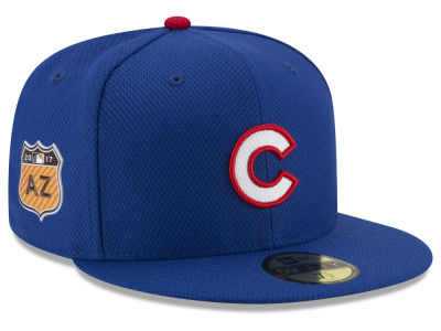 Chicago Cubs New Era 2017 MLB Diamond Era Spring Training 59FIFTY Cap