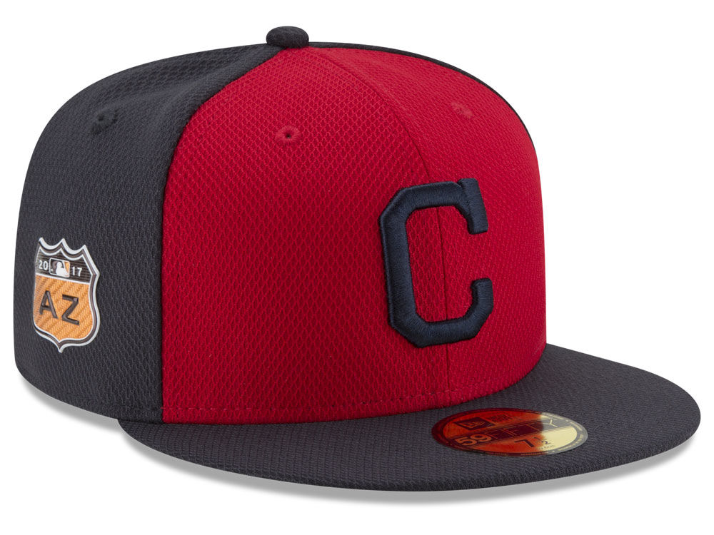 9d2c84313ba Cleveland Indians New Era 2017 MLB Diamond Era Spring Training 59FIFTY Cap