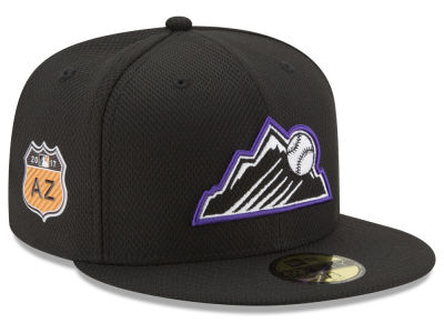 Colorado Rockies New Era 2017 MLB Diamond Era Spring Training 59FIFTY Cap
