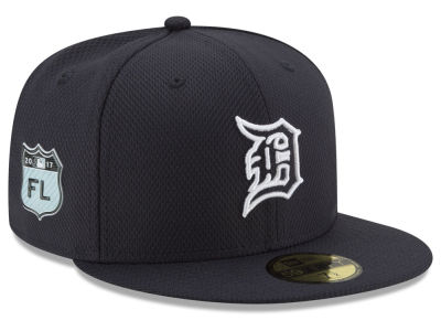 Detroit Tigers New Era 2017 MLB Diamond Era Spring Training 59FIFTY Cap