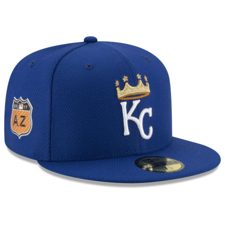 Kansas City Royals New Era 2017 MLB Diamond Era Spring Training 59FIFTY Cap