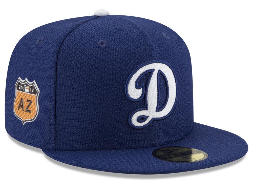 7a5927e44b2 Los Angeles Dodgers New Era 2017 MLB Diamond Era Spring Training 59FIFTY Cap