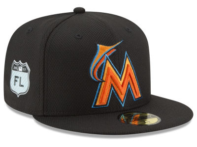 Miami Marlins New Era 2017 MLB Diamond Era Spring Training 59FIFTY Cap