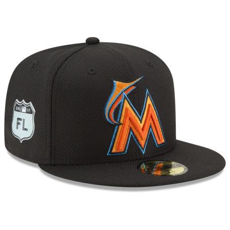 Miami Marlins New Era 2017 MLB Diamond Era Spring Training 59FIFTY Cap