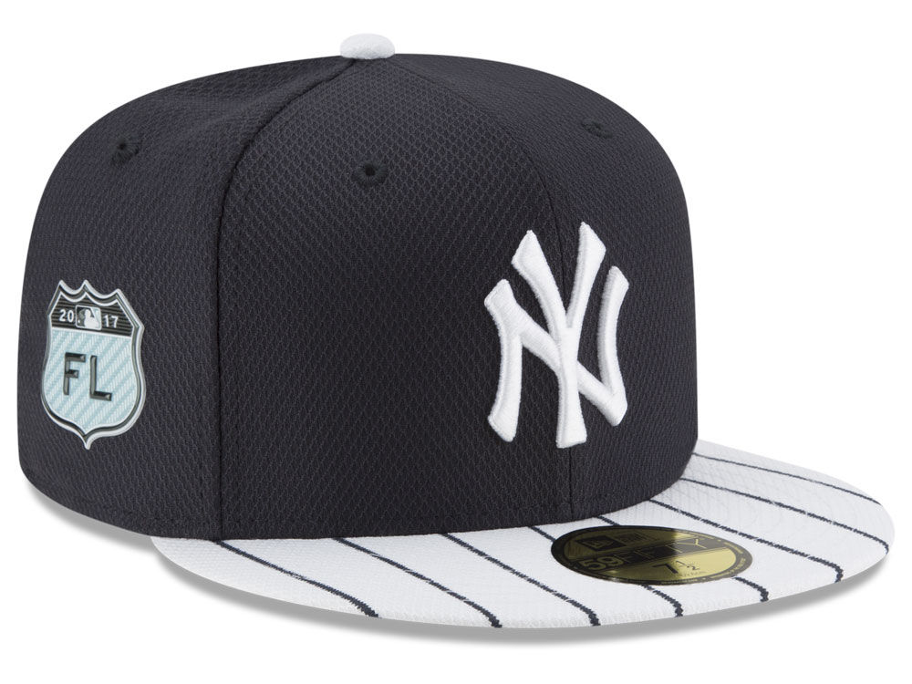 New York Yankees New Era 2017 MLB Diamond Era Spring Training 59FIFTY Cap  2cbc205b5fe6