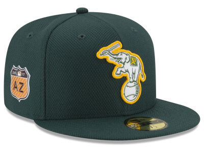 Oakland Athletics New Era 2017 MLB Diamond Era Spring Training 59FIFTY Cap