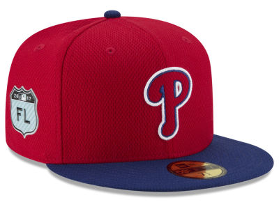 Philadelphia Phillies New Era 2017 MLB Diamond Era Spring Training 59FIFTY Cap