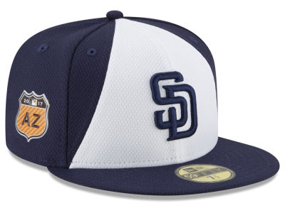 San Diego Padres New Era 2017 MLB Diamond Era Spring Training 59FIFTY Cap