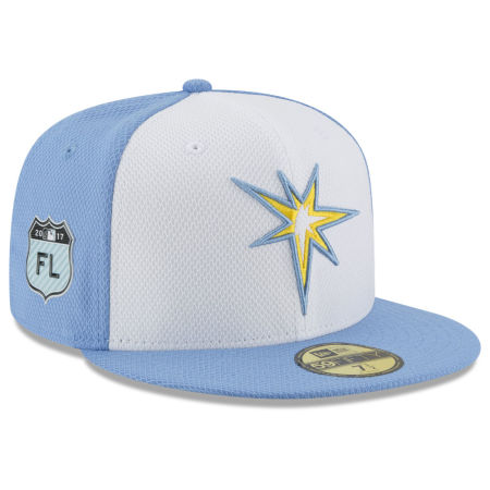 Tampa Bay Rays New Era 2017 MLB Diamond Era Spring Training 59FIFTY Cap
