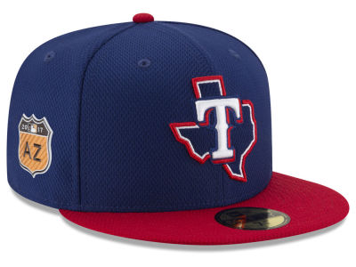 Texas Rangers New Era 2017 MLB Diamond Era Spring Training 59FIFTY Cap