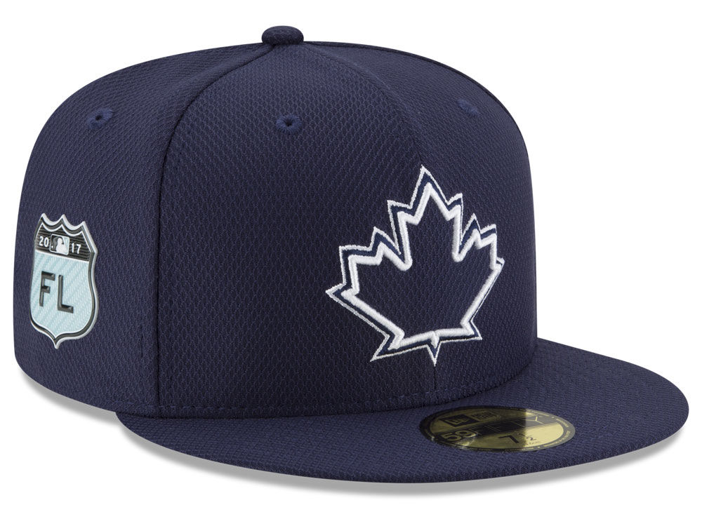 88878f38093 Toronto Blue Jays New Era 2017 MLB Diamond Era Spring Training 59FIFTY Cap