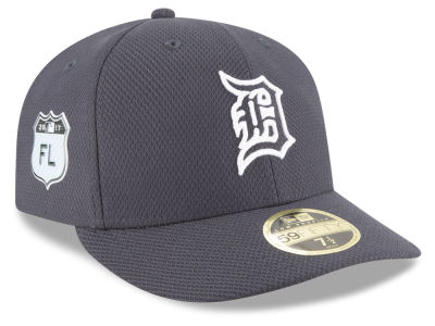 Detroit Tigers New Era 2017 MLB Diamond Era Spring Training Low Profile 59FIFTY Cap