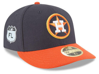 Houston Astros New Era 2017 MLB Diamond Era Spring Training Low Profile 59FIFTY Cap